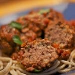 Molly's Spaghetti Meatball Dinner