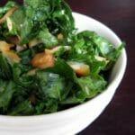 Sorta Raw Kale Salad