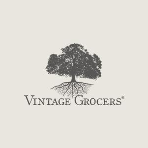 vintage grocers logo